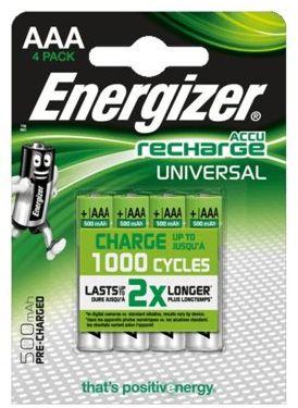 Akumulatory ENERGIZER Universal AAA 500mAh 4szt.. > DARMOWA DOSTAWA ODBIÓR W 29 MIN DOGODNE RATY