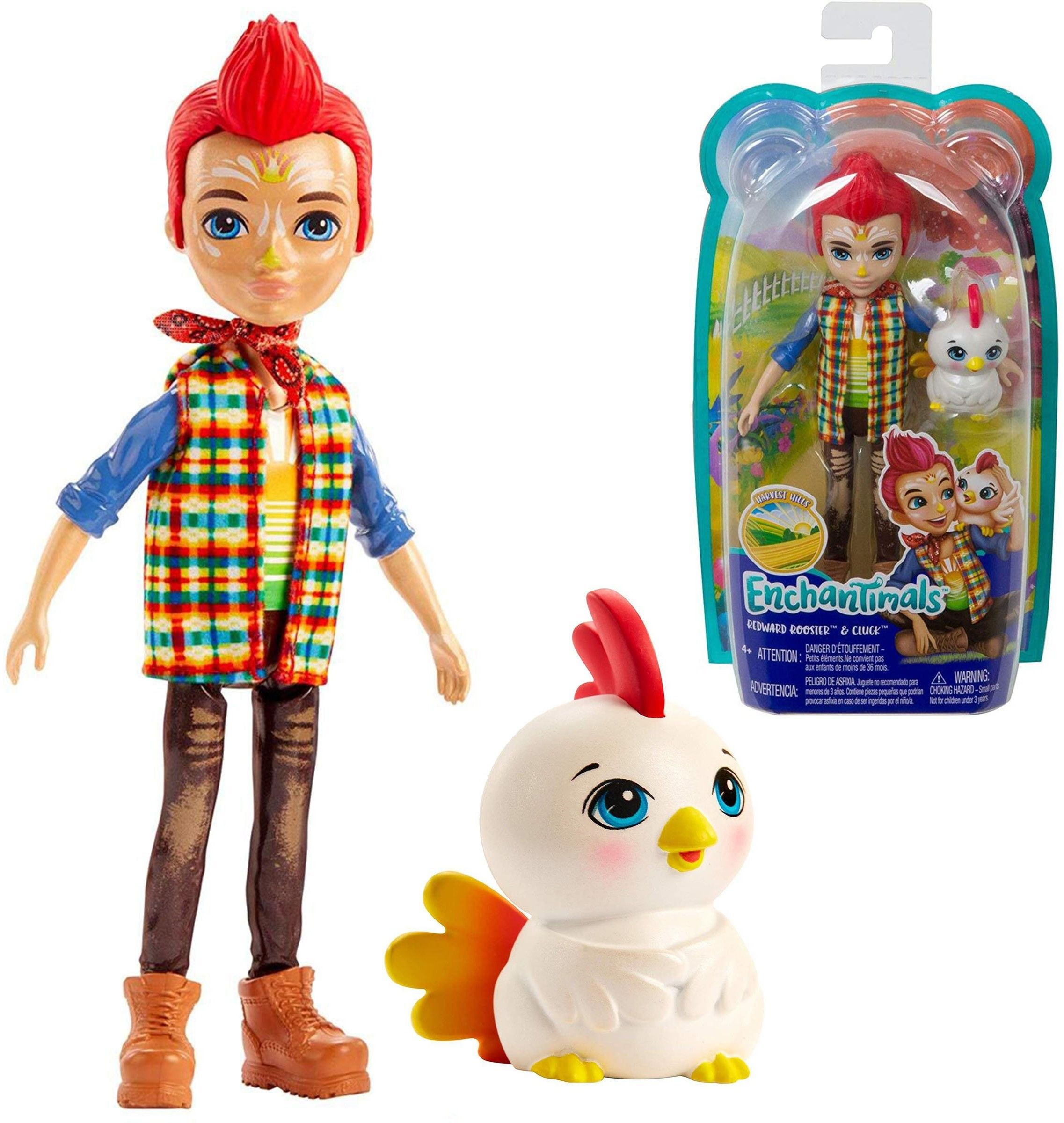 Enchantimals - Redward Rooster & Cluck GJX39