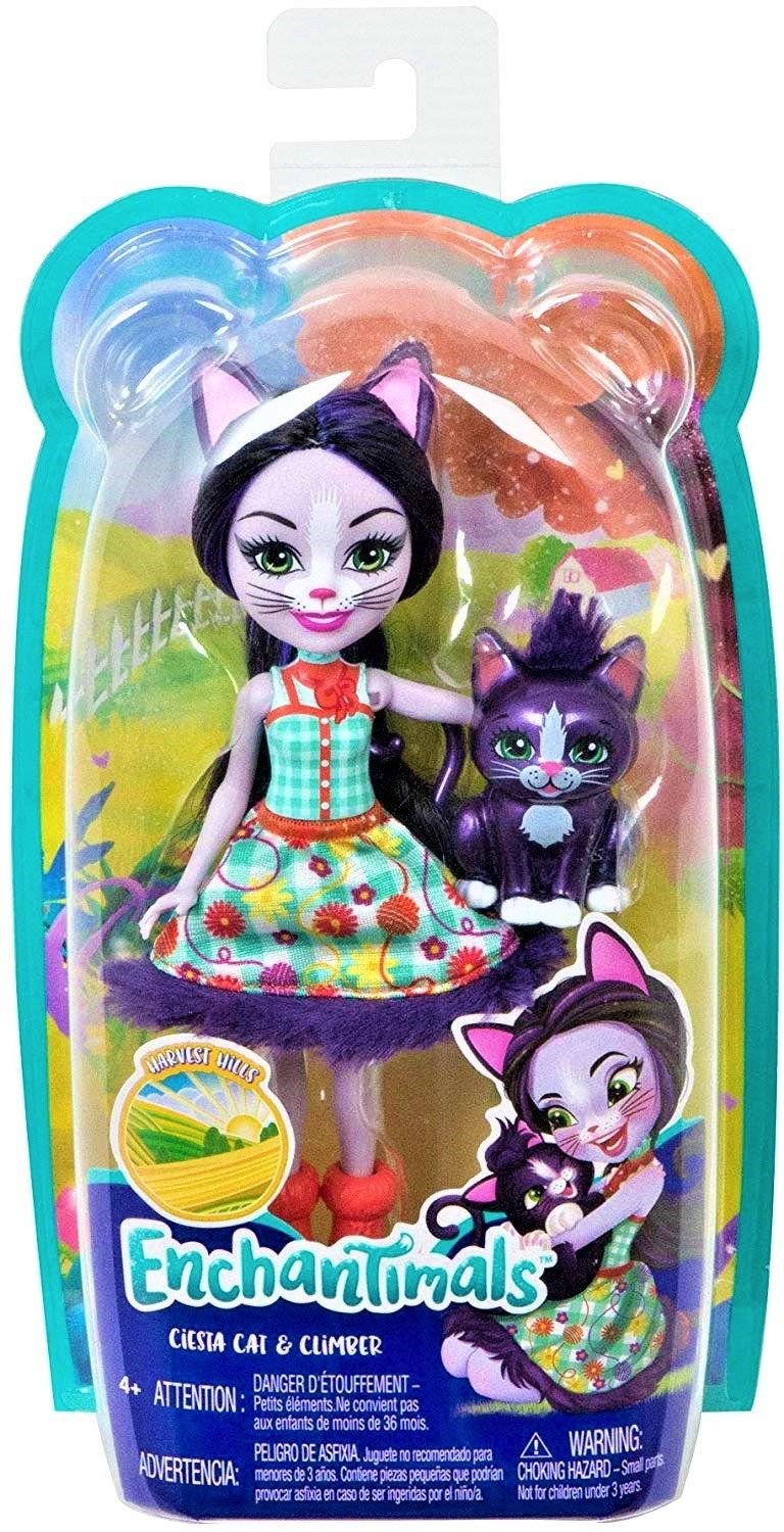 Enchantimals - Ciesta Cat & Climber GJX40