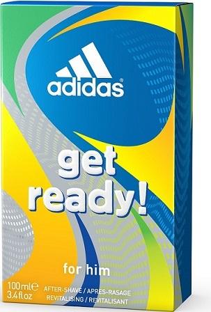 Adidas Get Ready woda po goleniu - 100ml Do każdego zamówienia upominek gratis.