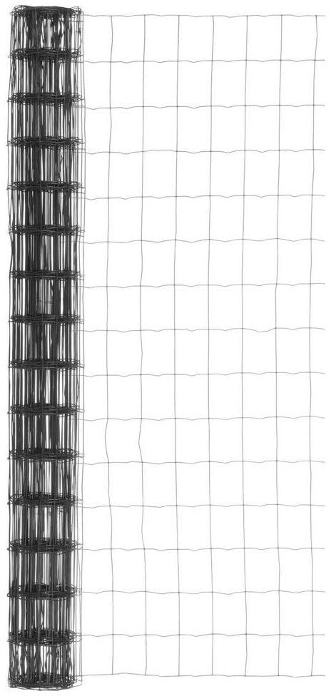 Siatka ogrodzeniowa zgrzewana 1.5 x 10 m antracytowa