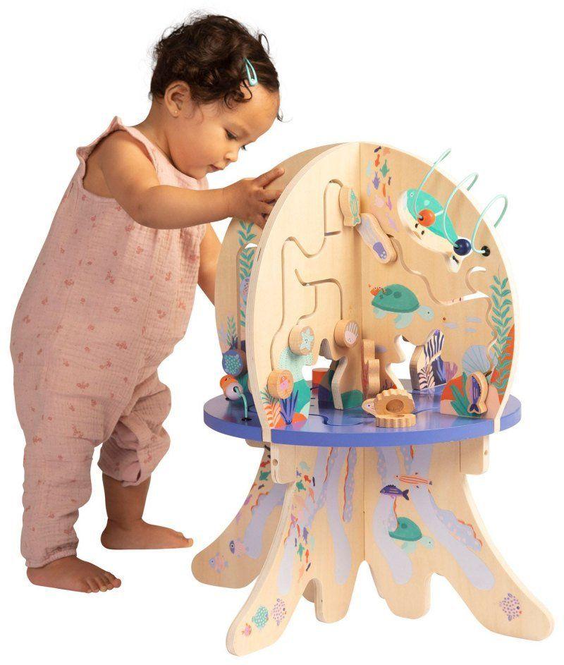 Kostka edukacyjna Przygoda w morskich głębinach 159110-Manhattan Toy, zabawki drewniane