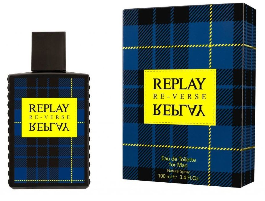 Replay Signature Reverse For Him 100ml woda toaletowa