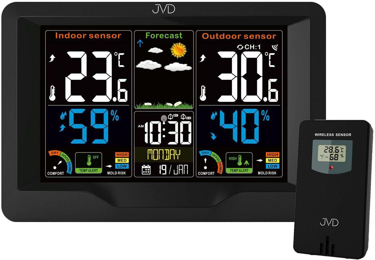 Stacja pogody JVD RB3383 DCF77