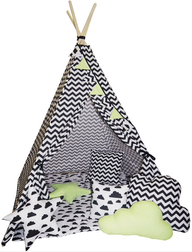 Namiot dla dziecka tipi z 3 poduszkami - Loster