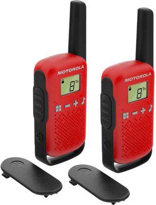 Radiotelefon PMR MOTOROLA T42 Talkabount Czerwony
