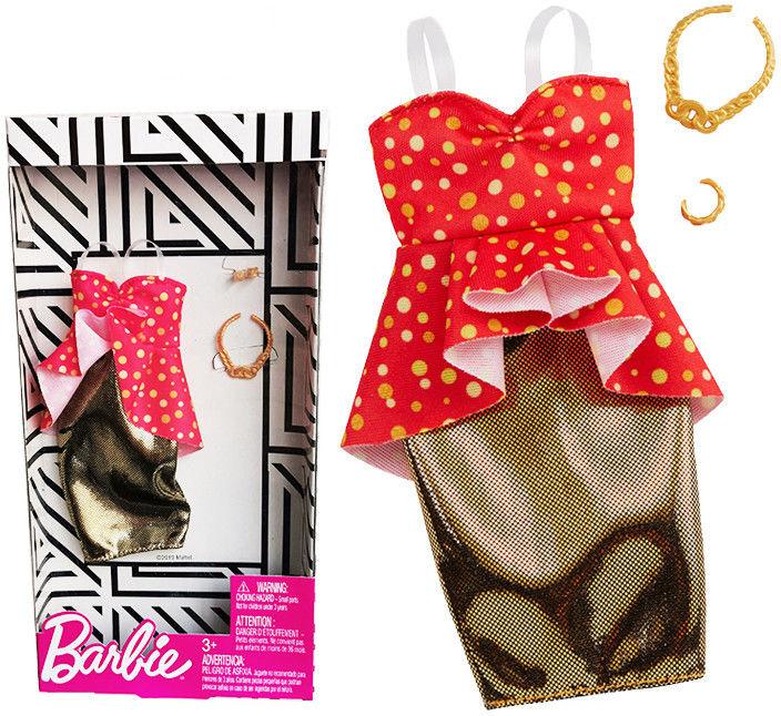 Barbie - Modne kreacje - sukienka GHW81