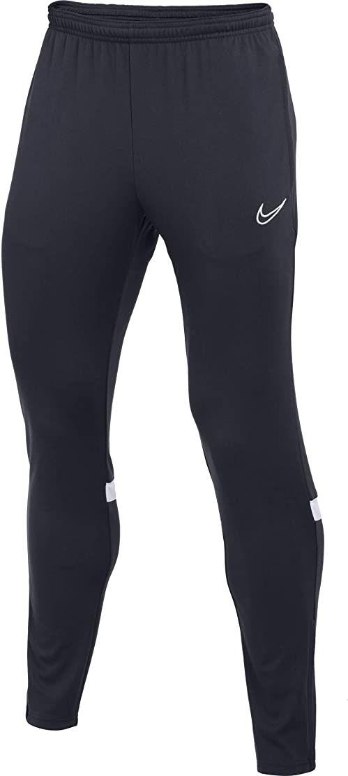 Nike Męskie spodnie dresowe Dri-fit Academy Obsydian/biały/biały XXL
