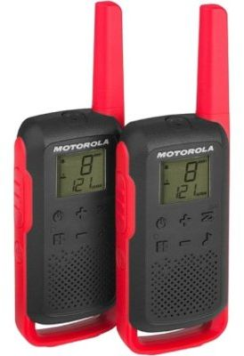Radiotelefon PMR MOTOROLA T62 Talkabount Czerwony