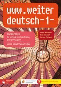 www.weiter deutsch 1 Podręcznik z płytą CD