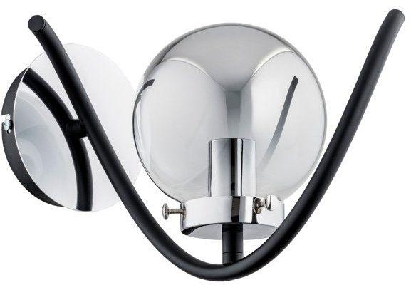 Nowoczesna lampa ścienna GOTTA I chrom śr. 27cm