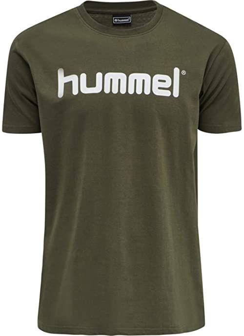 HUMMEL HMLGO COTTON LOGO T-SHIRT S/S liść winogrona S