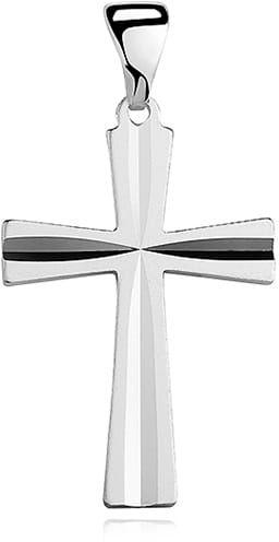 Krzyżyk srebrny, pr.925.