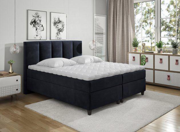 Łóżko Kontynentalne ARIZONA 160x200 - tapicerka do wyboru!