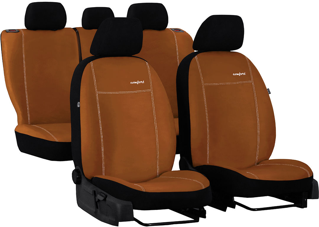 Pokrowce samochodowe do Ford Mustang coupe, Comfort, kolor brązowy