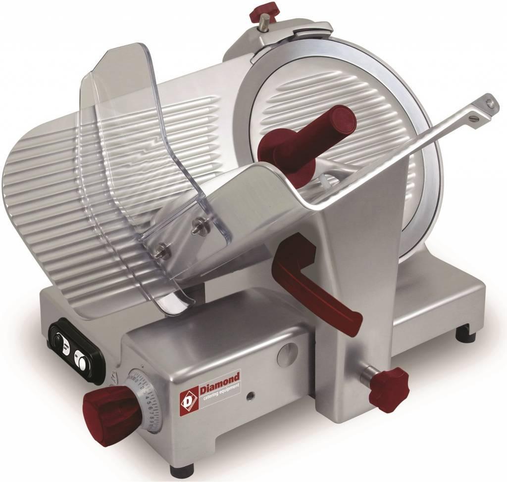 Krajalnica do wędlin o mocy 280 W i nożu o średnicy 350 mm