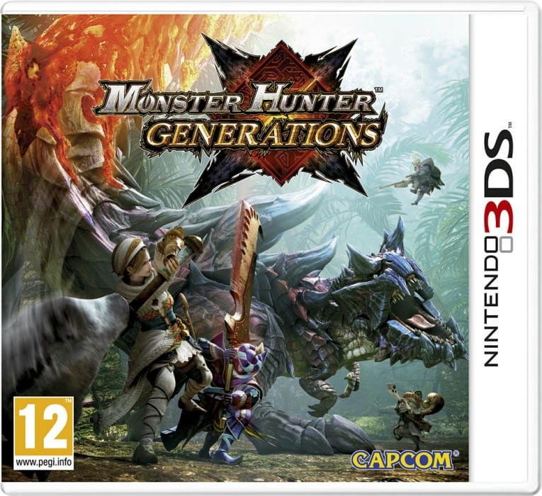 Gra Monster Hunter Generations (Nintendo 3DS)