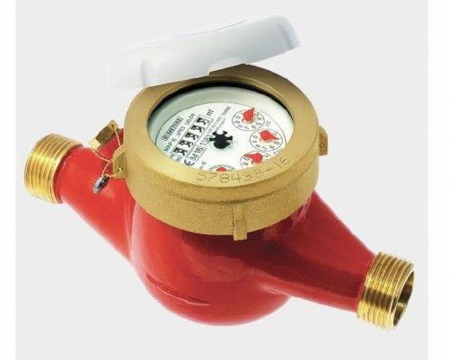 Wodomierz wielostrumieniowy DN15-50 do wody ciepłej 90 C