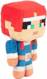 JINX JX11126 Minecraft Dungeons Happy Explorer Valorie pluszowa zabawka, czerwona