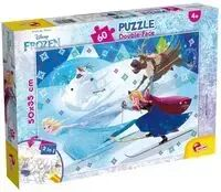 Puzzle dwustronne Plus 60 Frozen - DANTE