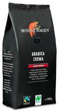 Kawa ziarnista arabica CREMA FAIR TRADE BIO 1 kg Mount Hagen