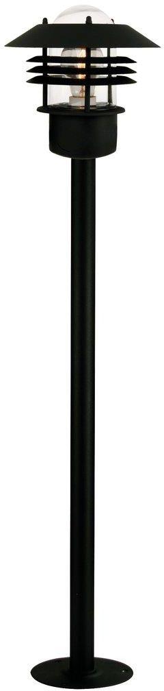 Lampa ogrodowa Vejers 25118003 Nordlux nowoczesna oprawa zewnętrzna w kolorze czarnym