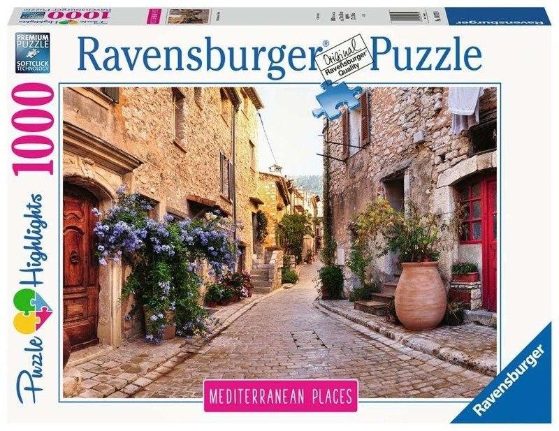 Ravensburger - Puzzle Śródziemnomorska Francja 1000 elem. 149759