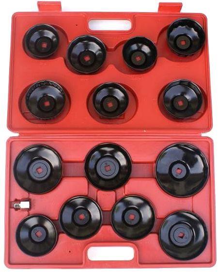 Zestaw kluczy nasadowych do filtrów olejowych 14el.