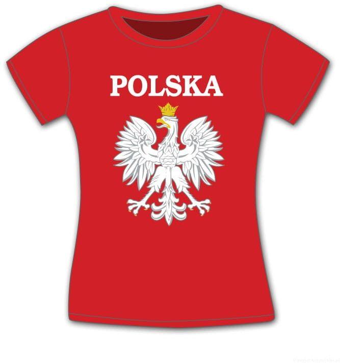 Koszulka damska Polska orzeł