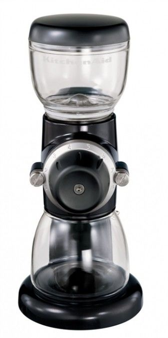 Młynek do kawy Artisan KitchenAid 5KCG0702EOB, Czarny