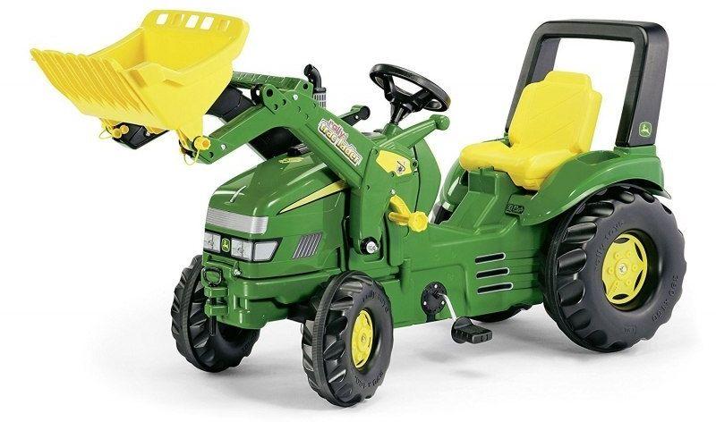 Rolly Toys Traktor na Pedały X-Trac John Deere z łyżką 3-10 Lat
