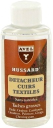 Odplamiacz do skór skóry butów tkanin Avel Hussard 200ml Butelka