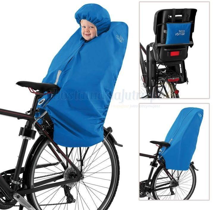 Ponczo przeciwdeszczowe na fotelik rowerowy BRITAX RÖMER dla dzieci