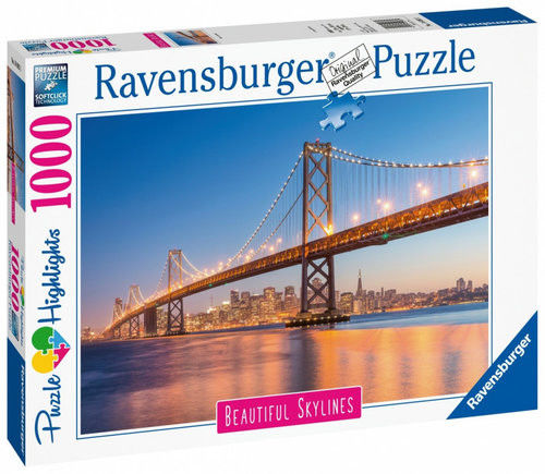 Ravensburger - Puzzle San Francisco most 1000 elem. 140831