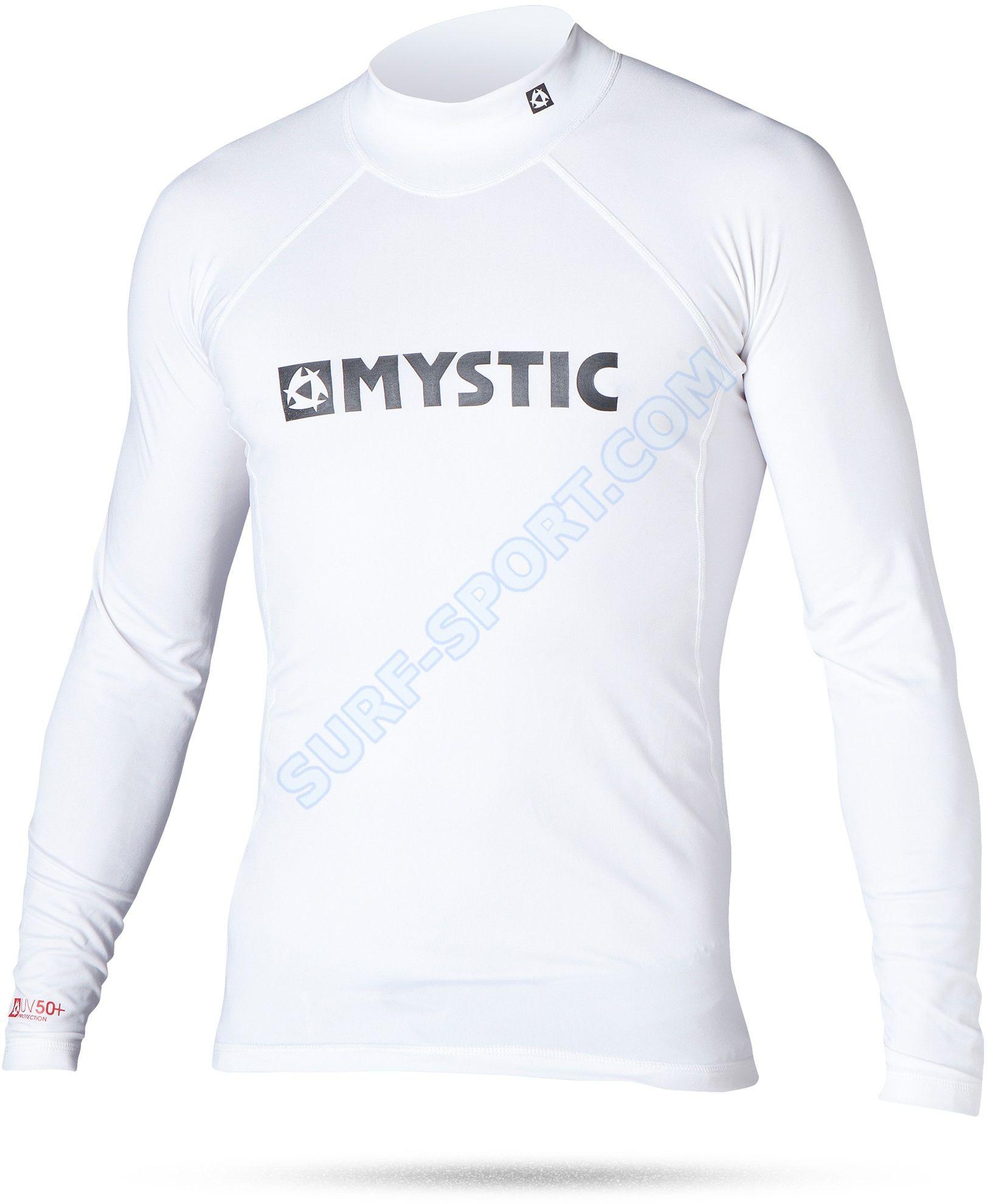 Lycra Mystic Star Rashvest Junior L/S White 2020