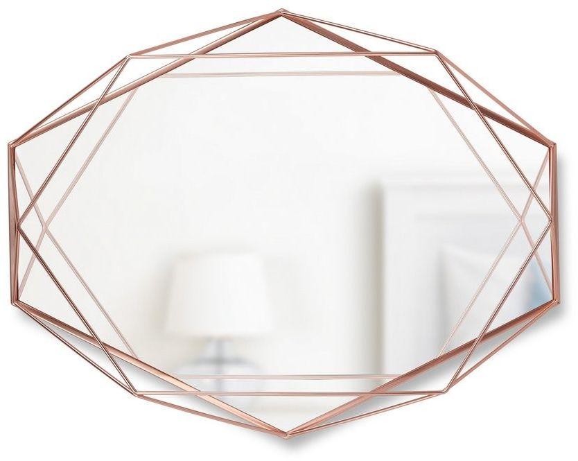 Umbra - lustro prisma - miedziane