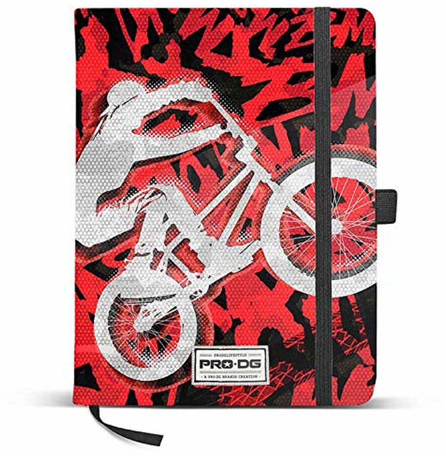 PRODG PRODG Diary 13 x 21 cm Backflip uchwyt do torebki, 21 cm, wielokolorowy (Multicolored)