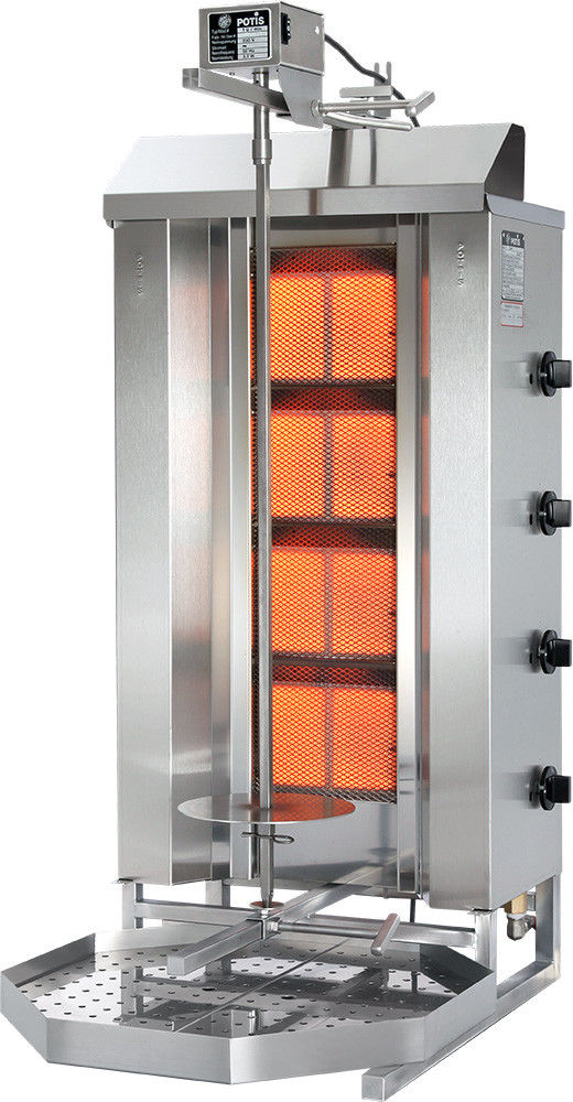 Gyros (kebab) gazowy - do 70 kg POTIS GD-4