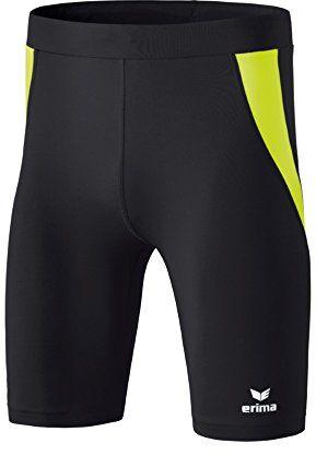 Erima Athletic Tight krótkie spodnie dla dzieci, uniseks czarny Schwarz/Neon Ge 128