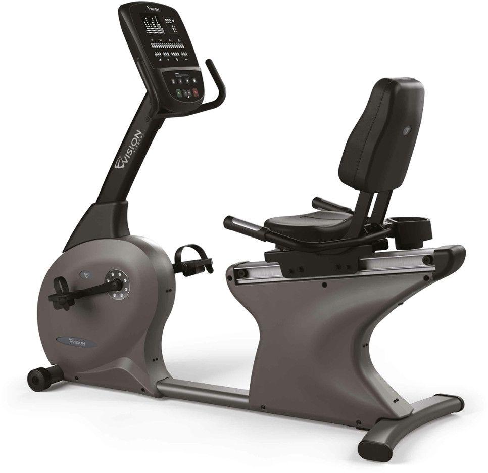 Rower Treningowy Elektromagnetyczny Poziomy R60 2019 Black 100961 Vision Fitness