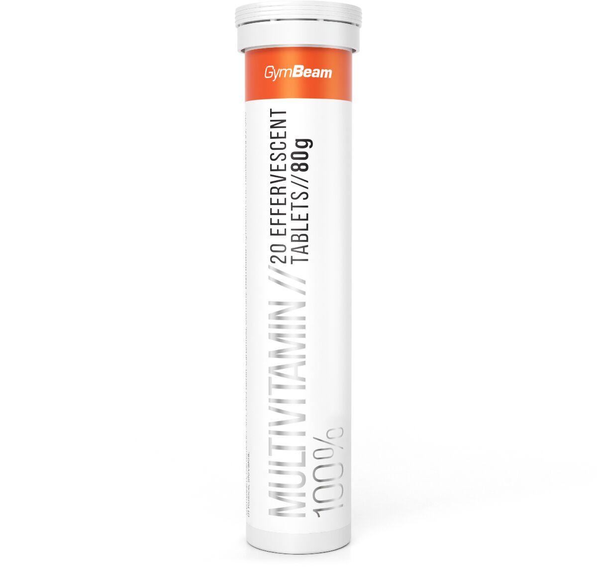 GymBeam Multiwitamina 100% 20 tab pomarańczowy