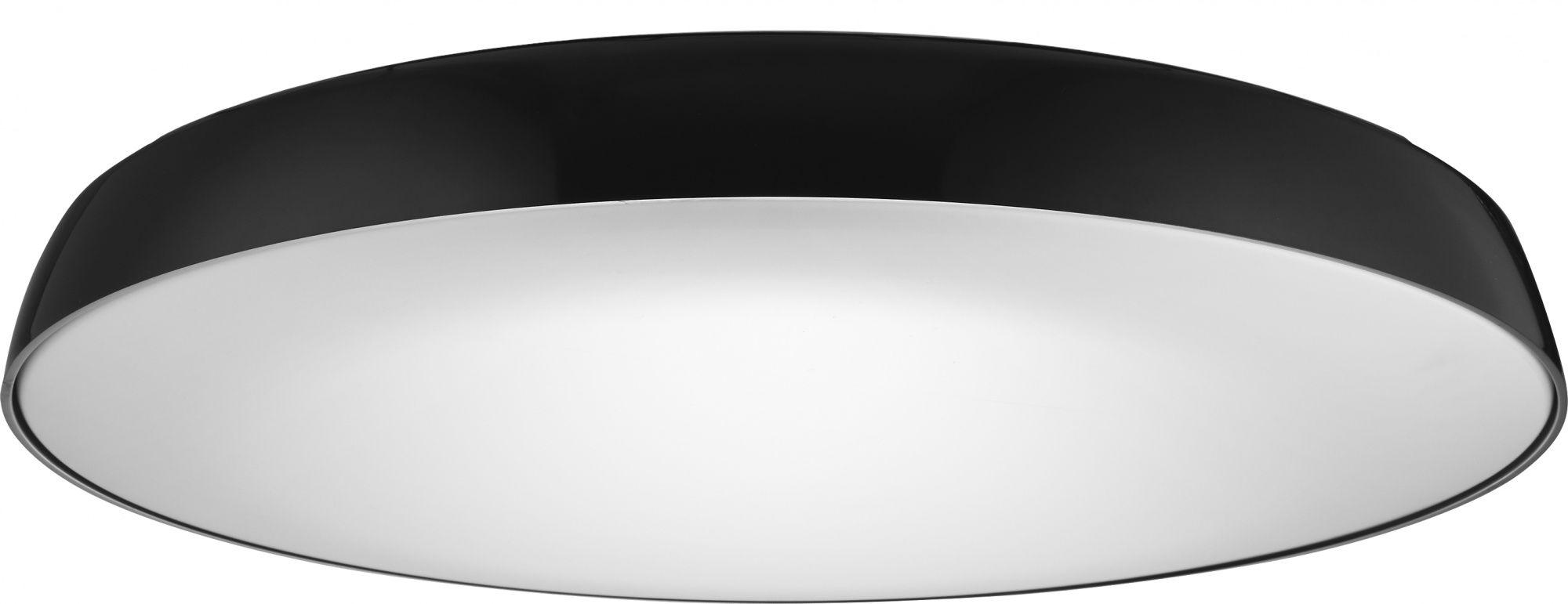 Plafon Cortona 41 AZzardo nowoczesna oprawa w kolorze czarnym