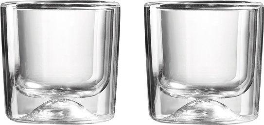 Szklanki termiczne guzzini 2 szt. 88 ml