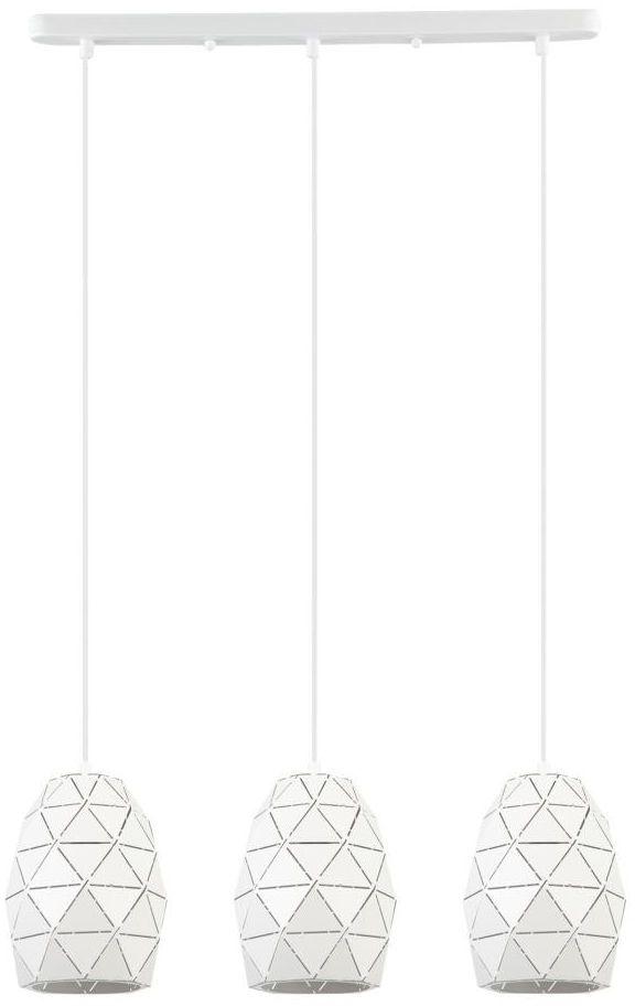 Lampa wisząca HARLEY biała E27 ITALUX