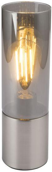 Globo ANNIKA 21000N lampa stołowa chrom matowy 1xE27 25W 9cm