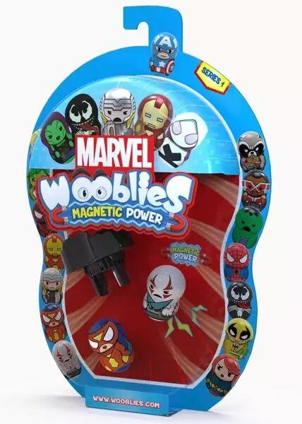Wooblies Marvel 2 figurki + wyrzutnia - TM Toys