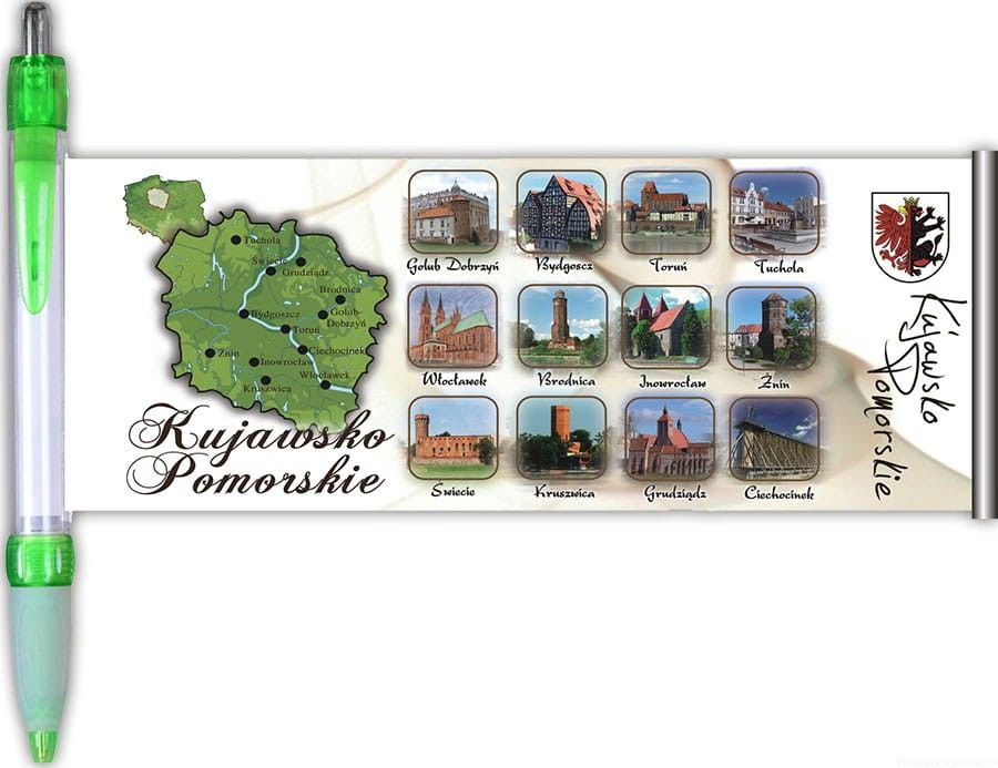 Długopis rozwijany Kujawsko-Pomorskie
