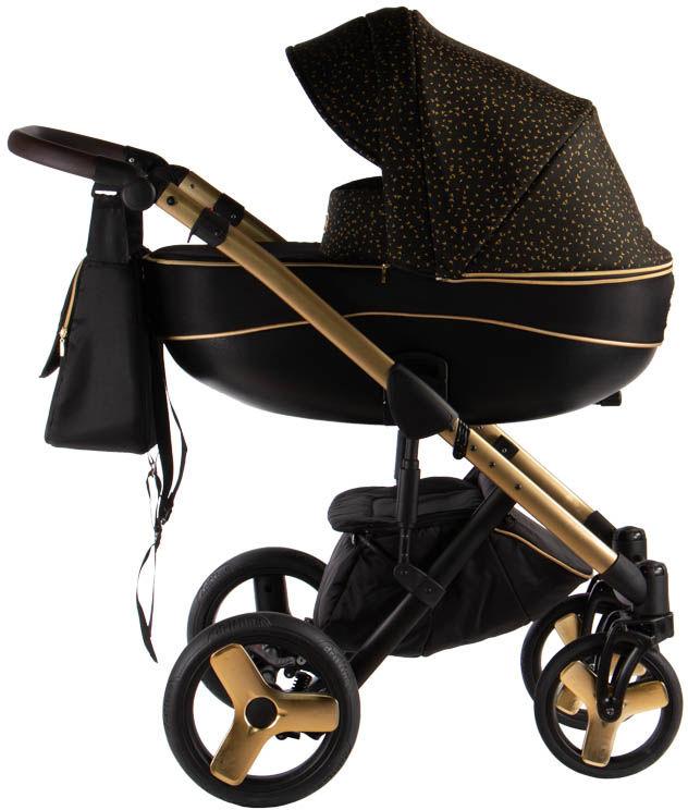 Avero - kol. AV-05 Gold 3w1 - Wózek dziecięcy - Kajtex