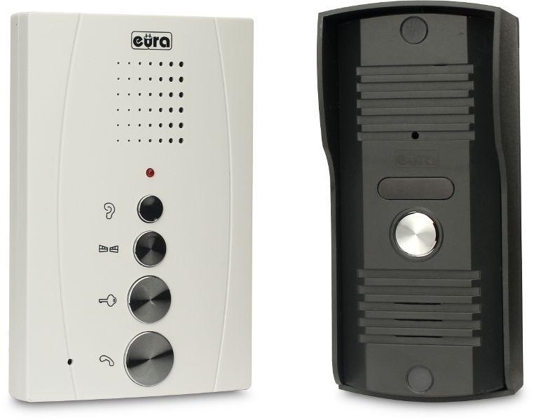 Zestaw domofonowy EURA ADP-11A3 / DIN15W12 + elektrozaczep