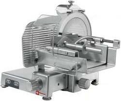 Krajalnica do mięsa o mocy 370 W z nożem o średnicy 350 mm